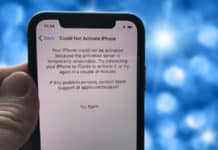 could not activate iphone x