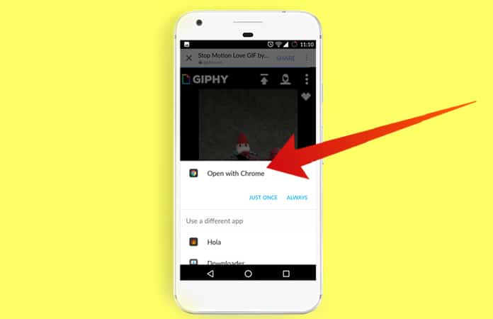 save gif from facebook on android