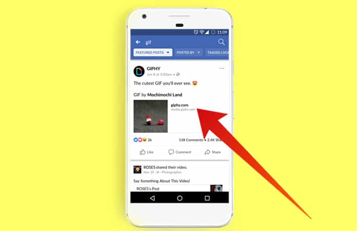 download gif facebook android