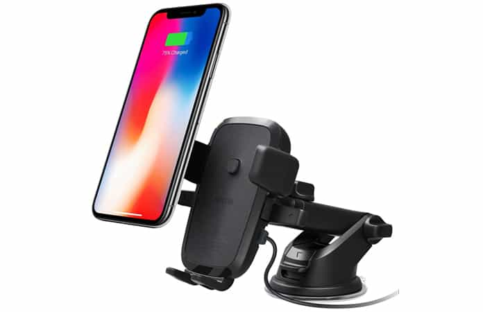 qi car charger for iphone