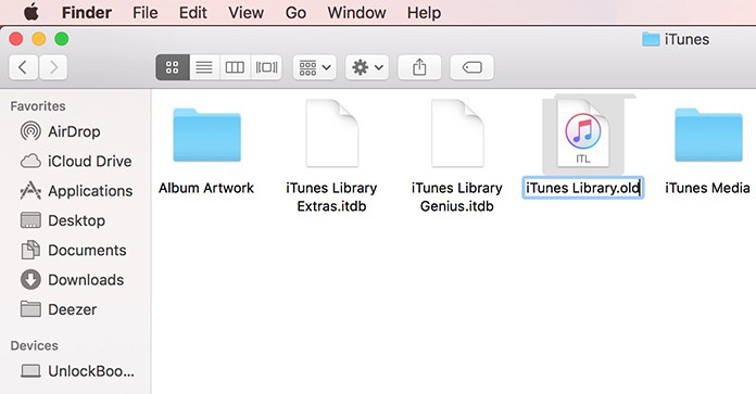 the file itunes library.itl cannot be read