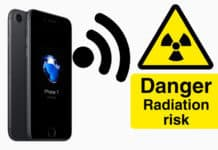 lower iphone radiation exposure