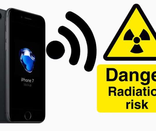 lower iphone radiation exposure