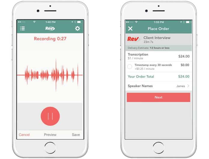 free voice recorder app for iphone