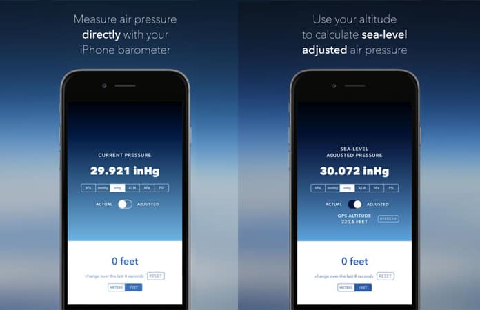Best Barometer Apps For IPhone And IPad - Best altitude app