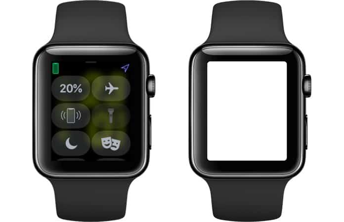 turn apple watch as flashlight