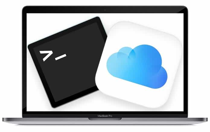 access icloud drive from terminal