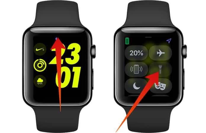apple watch flashlight