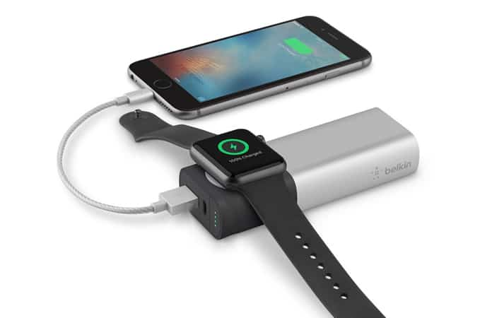 potable charger for apple watch