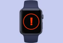 apple watch stuck on apple logo