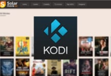 Solar Movie Addon for Kodi