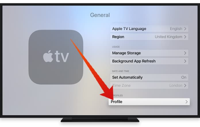 apple tv disable auto update