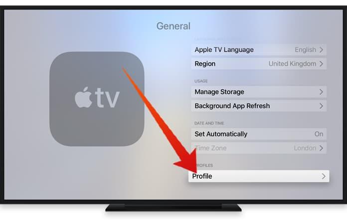 apple tv disable auto update