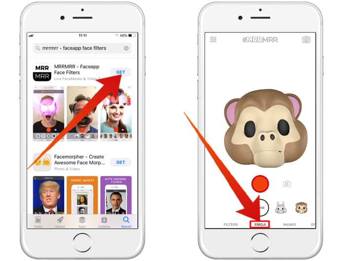 get animojis on iphone 7