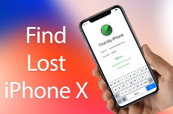 find a lost iphone x
