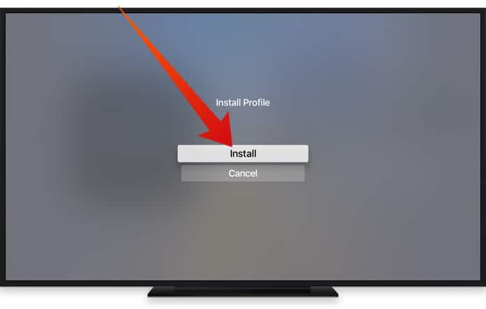 disable updates on apple tv 4