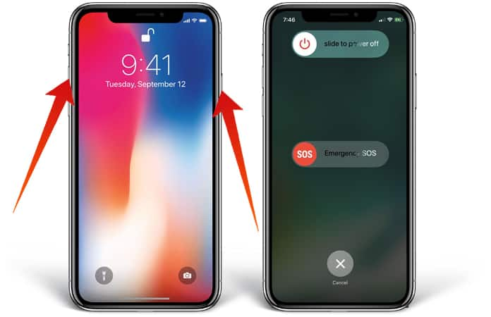 iphone shut down how to turn iphone x in 2 ways 12310