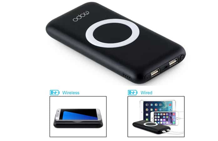 wireless portable power bank