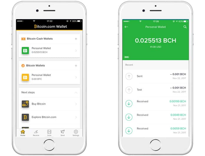 bitcoin wallet app for iphone