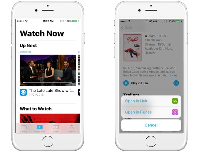 how to use the tv app on iphone