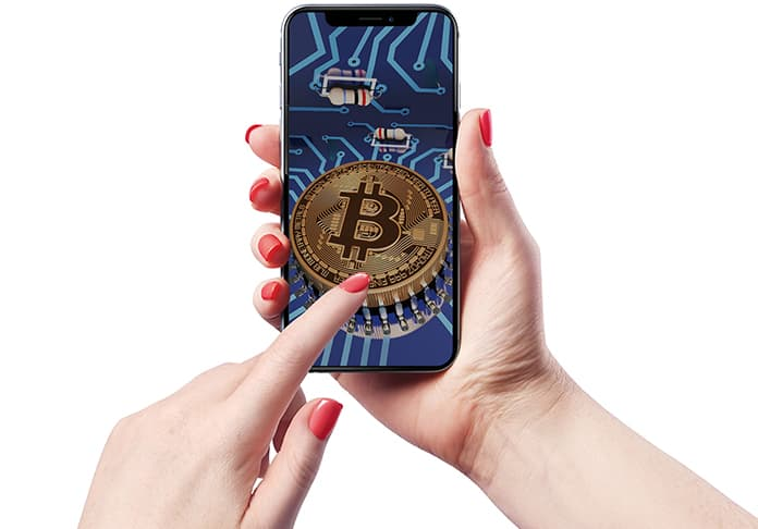 buy bitcoin from iphone