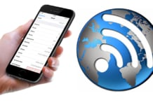 find wifi mac address on iphone