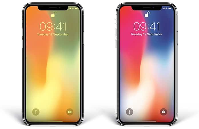 yellow display on iphone x
