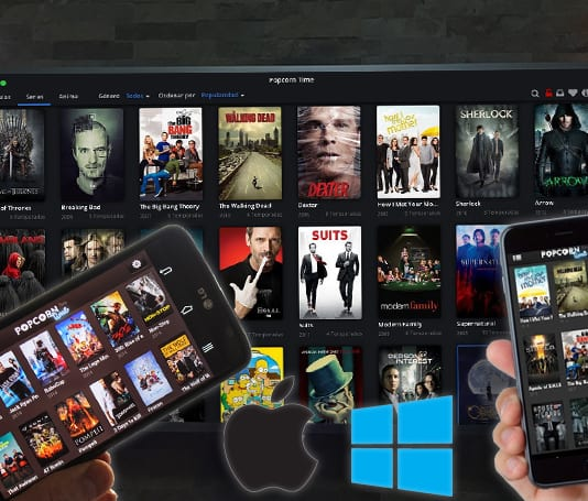 stream popcorn time to chromecast