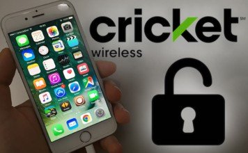 unlock cricket phone