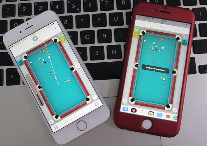 play 8 ball on iphone