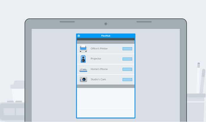use flexihub app on pc