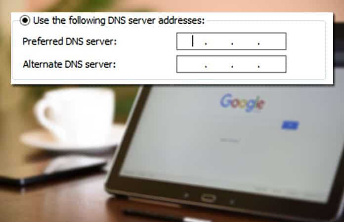 DNS_PROBE_FINISHED_NXDOMAIN Error