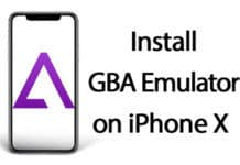 install gba emulator on iphone x