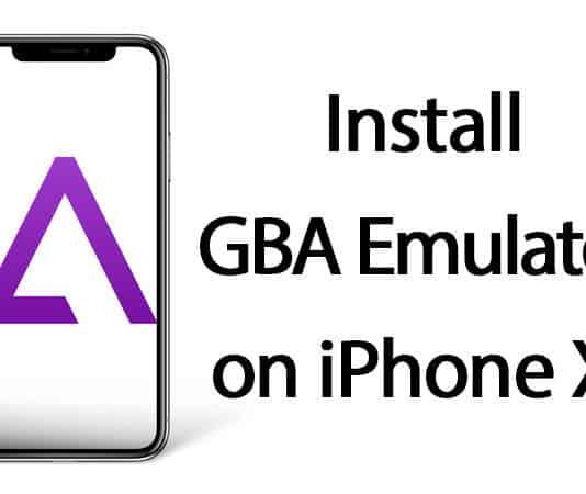install gba emulator on iphone x