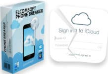 find icloud password from backup