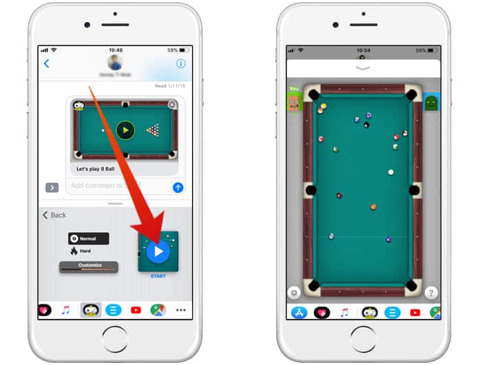 How to Play 8 Ball on iPhone Running iOS 11 & 10