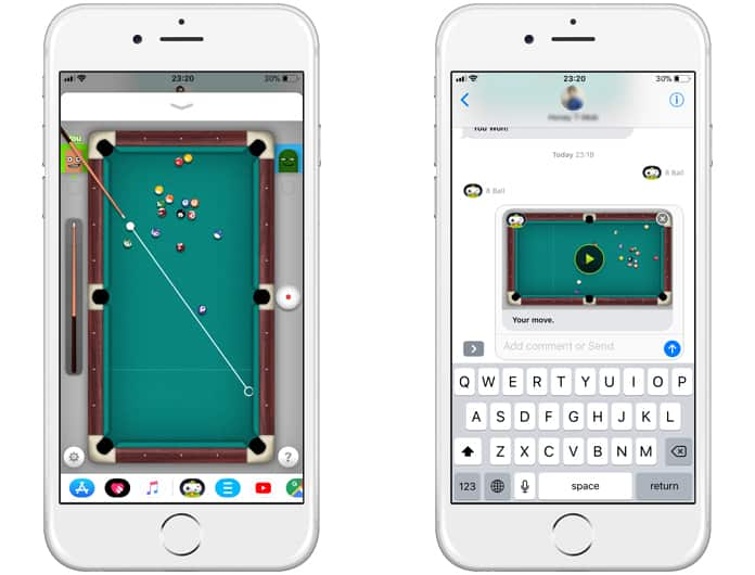 install imessage pool game
