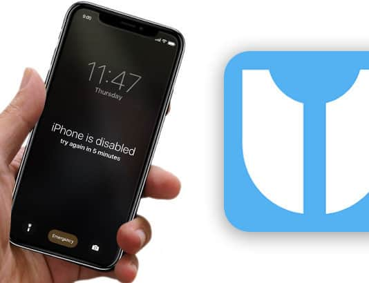 unlock a disabled iphone