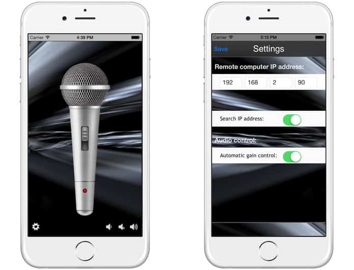 best live microphone app for iphone