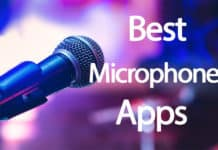 live microphone apps