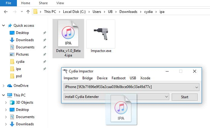 delta emulator ipa download