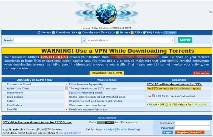best torrent websites