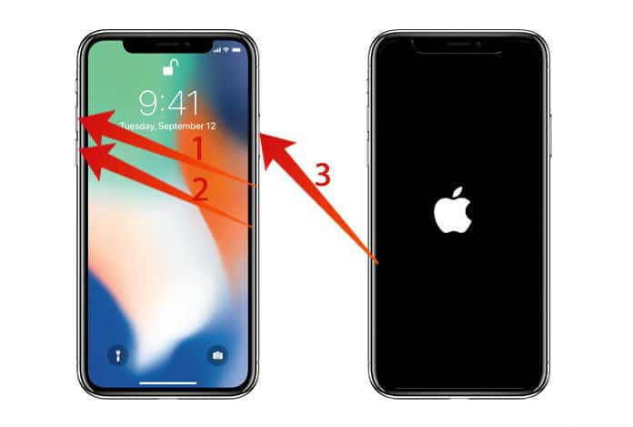 fix an unresponsive iphone x screen