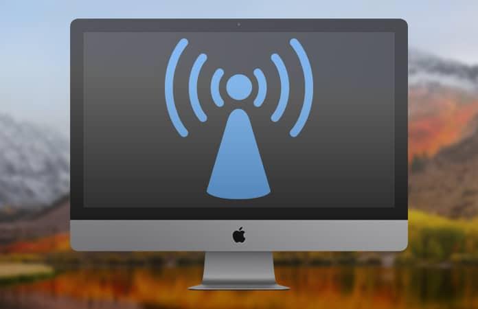 turn mac into a wifi hotspot