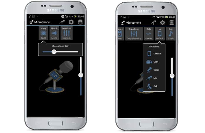 live microphone app android