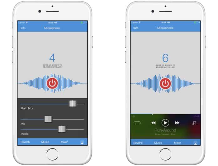 microphone app iphone