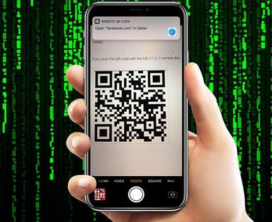 qr code bug in ios 11