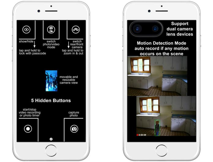 Top 5 Spy Camera Apps for iPhone and Android