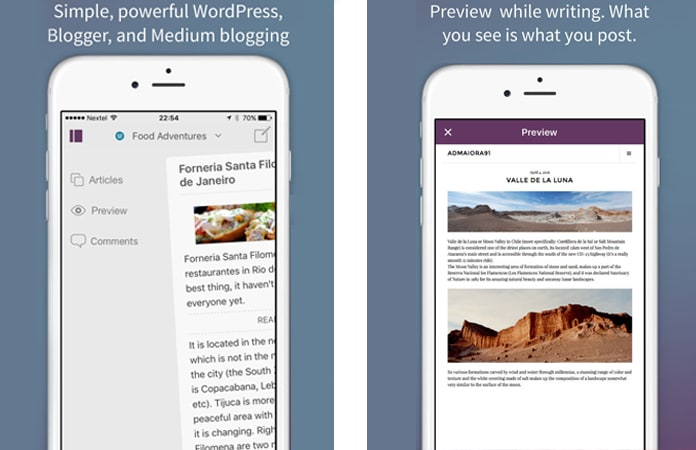 blogging apps for ipad