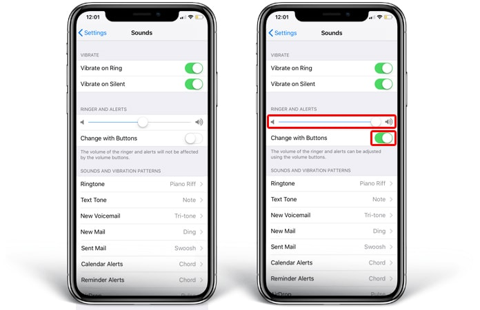 how to turn off ringer on iphone iphone x ring volume low here s a permanent fix 20405